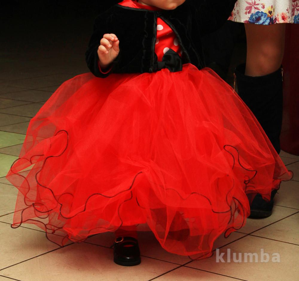 Пишне плаття в стилі мінні маус на 1 рік фото №1 a34423aa608c7
