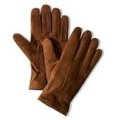 Кожаные мужские перчатки Tchibo размер 9, 5