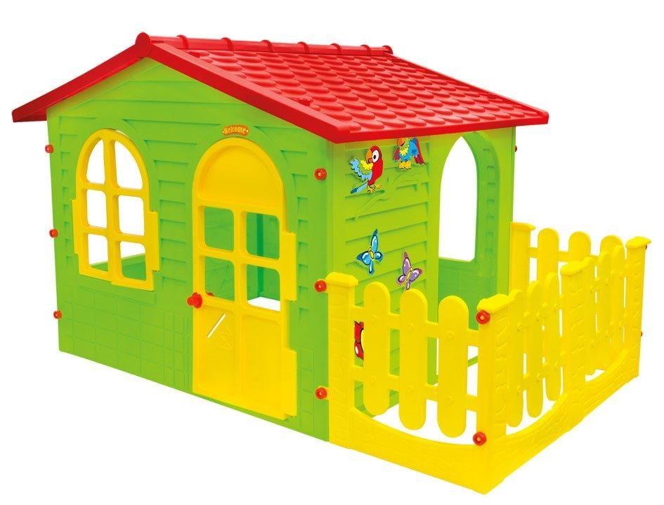 Детский игровой домик garden house с террасой фото №1