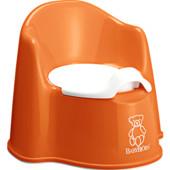 Швеция. Горшок BabyBjorn Potty Chair, цвет оранжевый