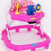 Ходунки детские Bambi JS313 Pink