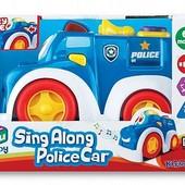 Полиция, машинка музыкальная, шт.арт.: K12842