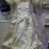 Красивое платье Disney на 5-6 лет,р.116 см