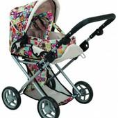 Детская коляска 2 в 1 с люлькой «Mary», цветная арт.: 9346