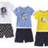Комплект шорты и футболка  для девочек Lupilu, Германия