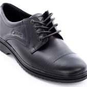 Туфли кожаные мужские Bastion 011