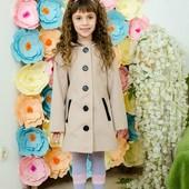 Пальто кашемировое для девочки Ушки