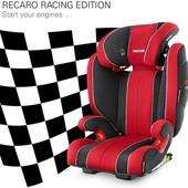 Автокресло recaro monza nova 2 racing edition - суперцена