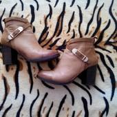 кожаные деми ботиночки 36 размер