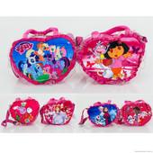 Детская плюшевая сумочка Мульти 25-20-4 см
