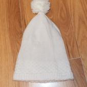 Красивая шапочка для девочки 3-4 года . 52 см