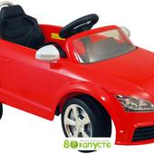 Мы в Киеве! электромобиль Audi tt Alexis-Babymix z676ar, red