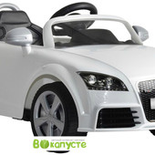 Электромобиль детский Audi tt Alexis-Babymix z676ar white
