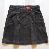 Шикарная вельветовая юбка для девочки.  Esprit. Размер 10 лет. Состояние: новой вещи