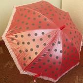 Зонтик в горошек, возраст 2-5 лет