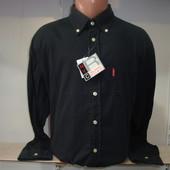 Распродажа! Мужская рубашка с длинным рукавом NYC. Разные цвета.