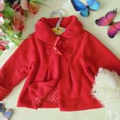 Флисовое пальто Next 18-24м(86-92см)Мега выбор одежды и обуви