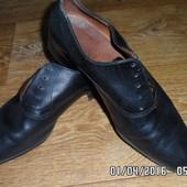 Французские туфли кожжаные. пос тельке 26,5