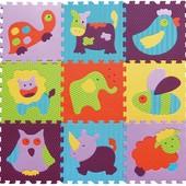 Детский игровой коврик-пазл «Веселый зоопарк»арт.: GB-M129А2