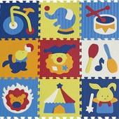 Детский игровой коврик-пазл «Удивительный цирк»