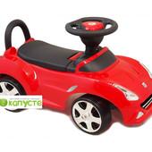 Машинка-каталка детская Alexis-Babymix HZ-603 (red)