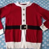 Новогодний мужской свитер р.м