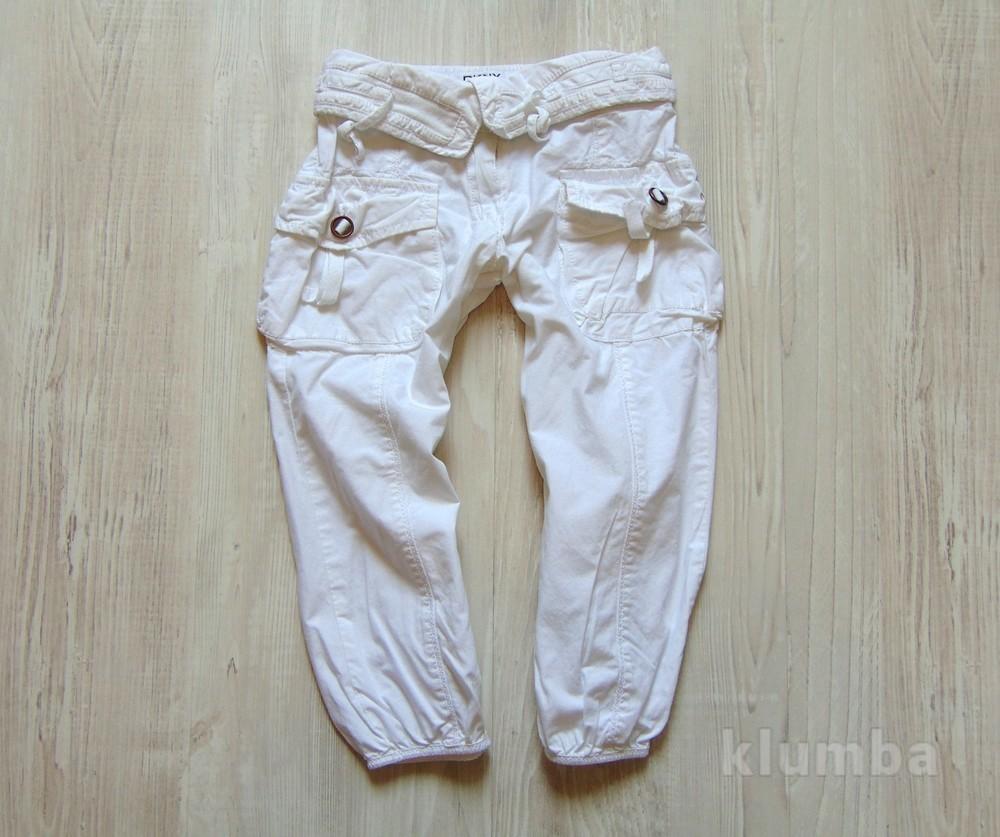 Летние штаники для девочки. dkny. размер 2 года. состояние: идеальное. состав: 100% хлопок фото №1