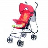 Прогулочная коляска Bambi M 2716 Львенок, цвет Красный