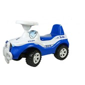 Машинка  BOC000976 для катання  джипик синя орион 105