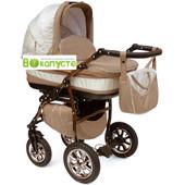 Универсальная коляска Anmar Eliss New 10E цвет светло-коричневый