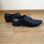 paul green р.41-42 туфлі броги оксфорди шкіра