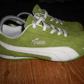 Яркие тканевые кроссовки Puma 39 размер. 25см.Состояние идеальное.