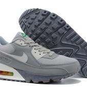 Кроссовки Nike Air Max 90 Premium - серые
