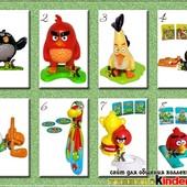 Продам киндер из серии Angry Birds 2016