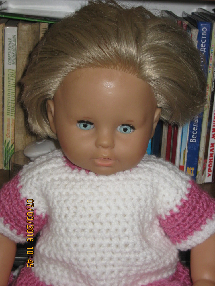 Кукла zapf 50 см.  фото №1