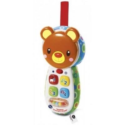 Vtech развивающая игрушка телефон отвечай и играй озвучена русский язык фото №1