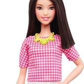 кукла Barbie Fashionistas White & Pink Pizzazz tall барби фашионистас высокая