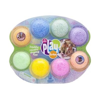 Educational insights набор шариковый пластилин радуга 8 цветов фото №1