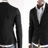 Приталенный пиджак на одной пуговице