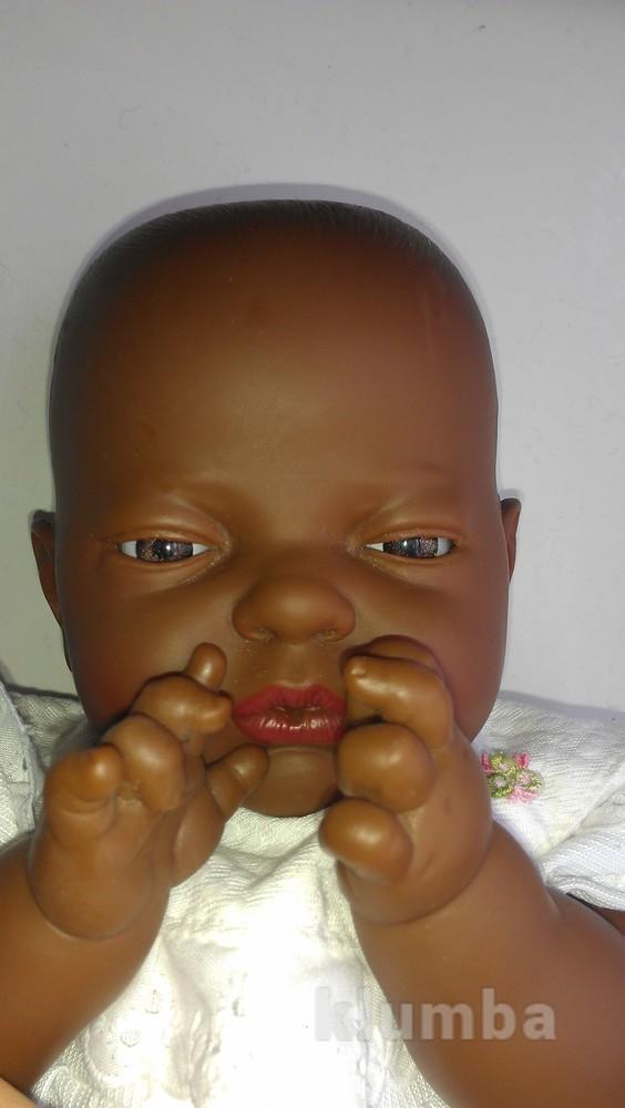 Кукла пупс афромалыш этно темнокожий шикарный фото №1