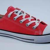 Женские кеды Converse All Stars red