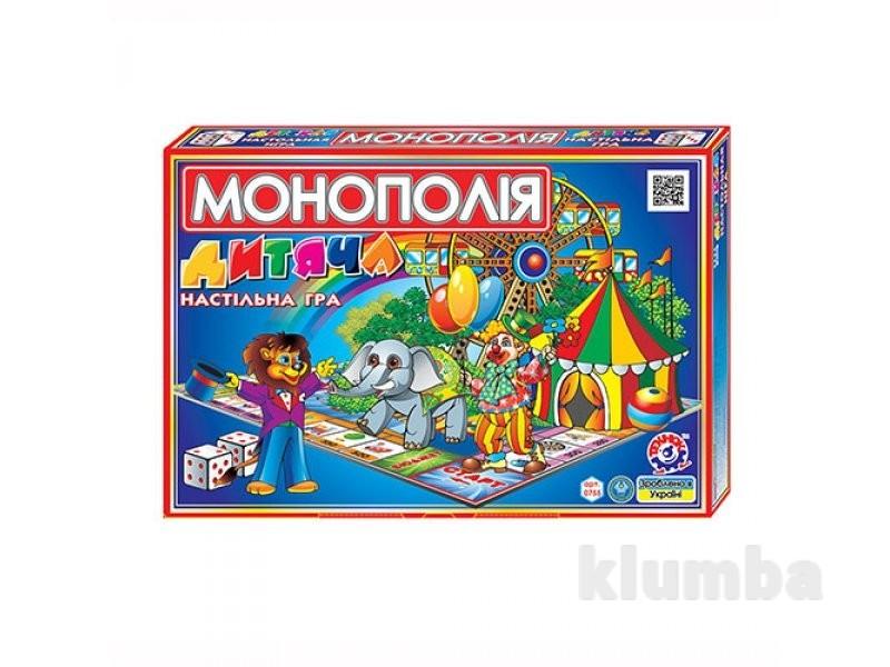 """Економічна гра boc045793 """"дитяча монополія"""" технок 0755 фото №1"""