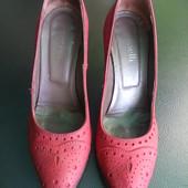 Туфельки (Италия), кожа, размер 36/37 (24 см стелька)