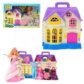 Кукольный домик с куколкой