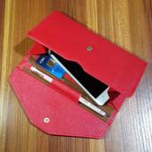3-16 Женский кошелек Wallet-Clutch цвет - красный