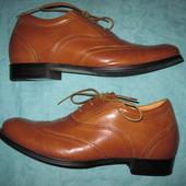 Pluris (44) кожаные туфли мужские