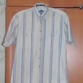 Х/б рубашка р40/41 в идеале