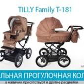 Детская универсальная прогулочная коляска Tilly Family T-181