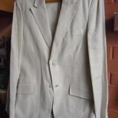 Пиджак льняной H&M