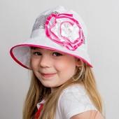 Панама для девочки «Маленькая леди» размер 50-54